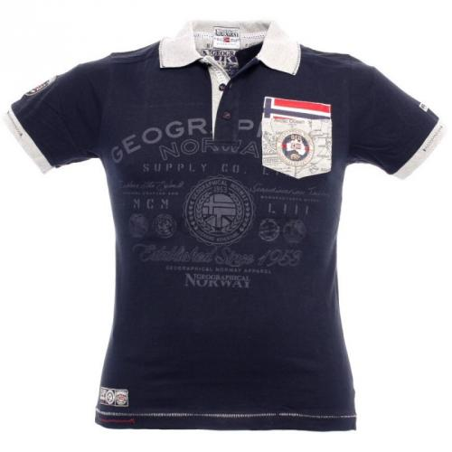 Polokošile Geographical Norway Kracking - navy