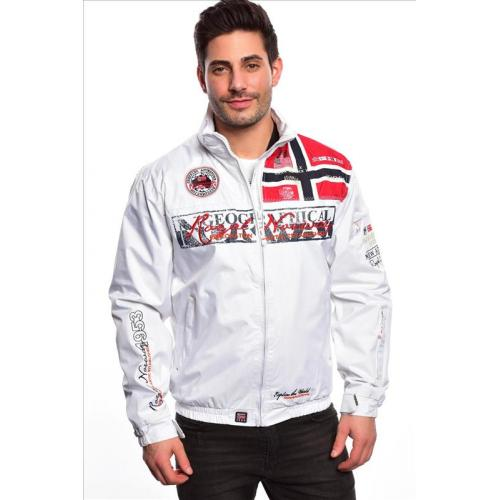 Bunda Geographical Norway Ayer - bílá