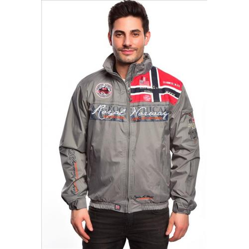 Bunda Geographical Norway Ayer - šedá