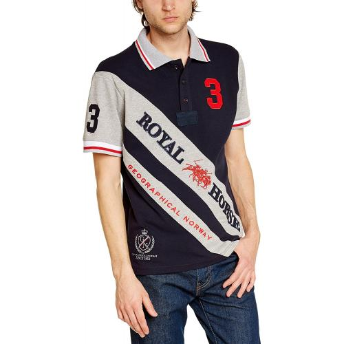 Polokošeľa Geographical Norway Kossi - navy