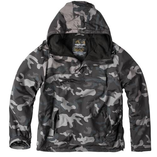 Bunda Surplus Windbreaker - blackcamo