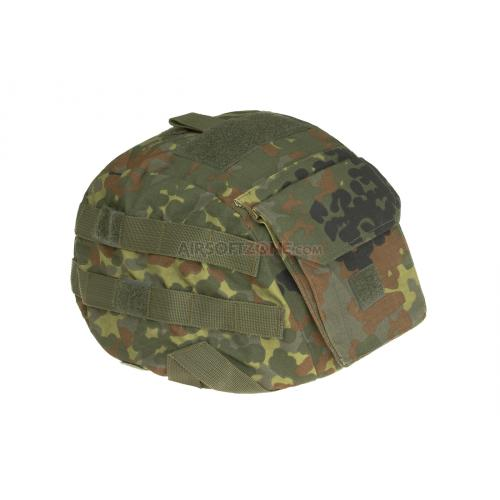 Potah na přilbu Invader Gear Raptor Cover - flecktarn