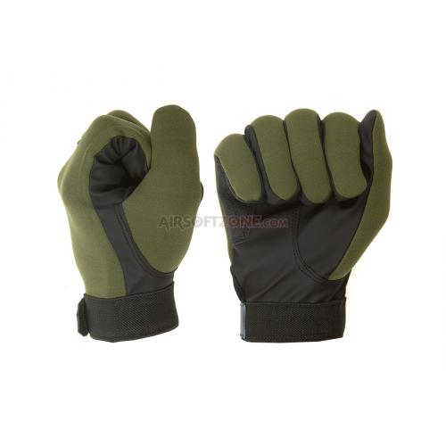 Rukavice Invader Gear All Weather Shooting Gloves - olivové