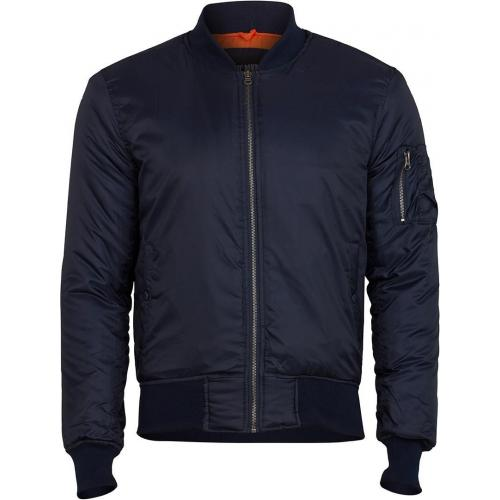 Bunda Surplus Bomber Basic - navy