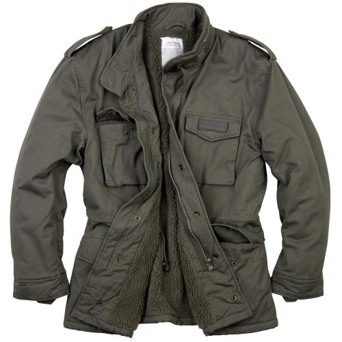 Bunda Surplus Paratrooper Jacket - olivová