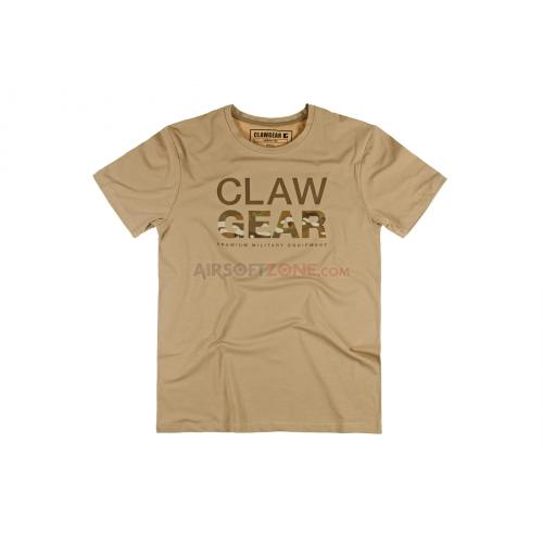 Triko Claw Gear MC Tee - khaki