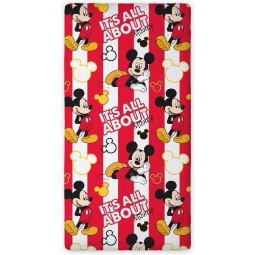 Prestieradlo Mickey Mouse 90x200 cm All About