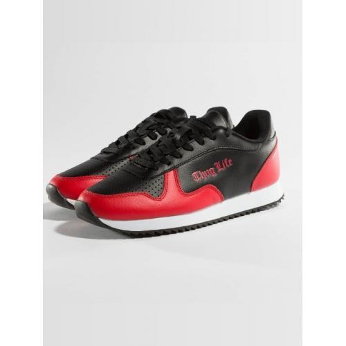 60470c6a28a9 Topánky Thug Life Sneakers 187 - čierne-červené - Thug Life oblečenie