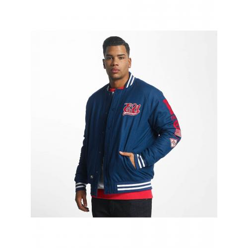 Bunda Ecko Unltd. Lightweight College Big Logo - modrá