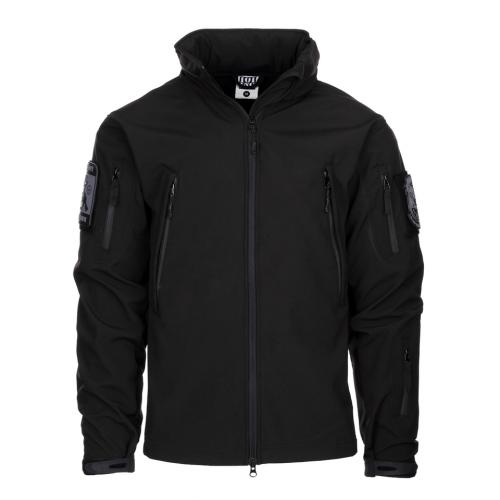 Bunda 101 Inc Soft Shell Tactical - černá