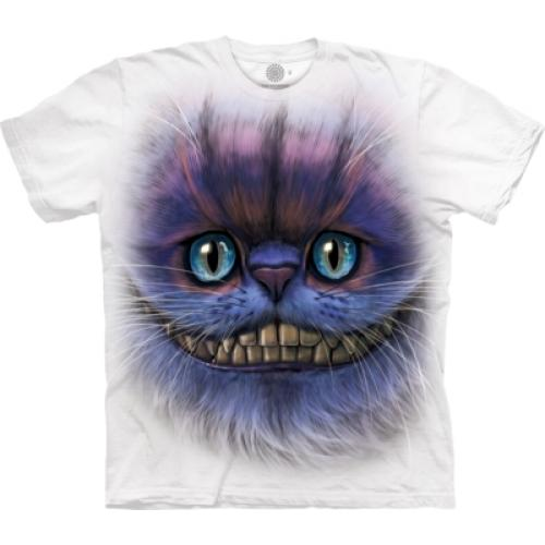 Tričko unisex The Mountain Cheshire Cat Special Edition - biele