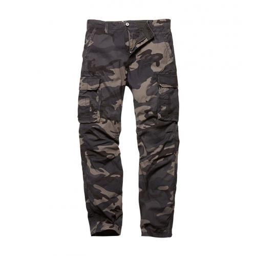 Nohavice Vintage Industries Reef - darkcamo