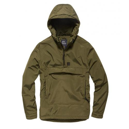 Bunda Vintage Industries Hopwood Anorak - olivová