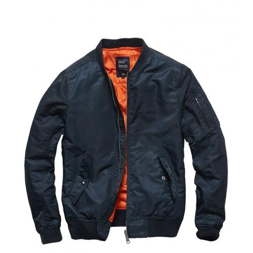 Bunda Vintage Industries Welder - navy