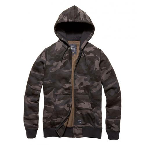 Mikina Vintage Industries Redstone - darkcamo