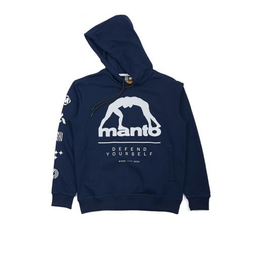 Mikina Manto Hoodie Elements - navy
