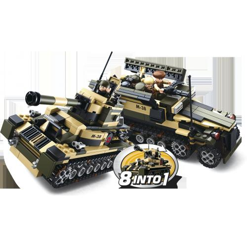 Stavebnice Sluban Builder King of Special Police 8in1 M38-B0587