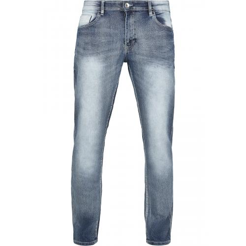 Džíny Southpole Stretch Basic Denim Skinny - šedé