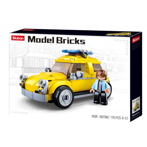 Stavebnice Sluban Model Bricks Volksauto M38-B0706C