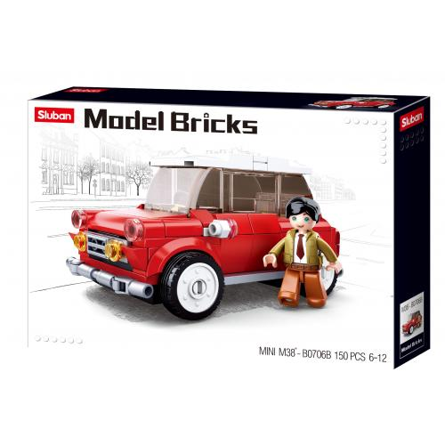Stavebnice Sluban Model Bricks Mini vůz M38-B0706B