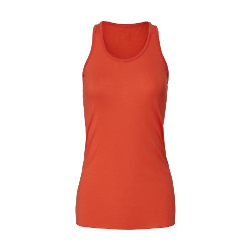 Top Bella Tank Top Flowy - oranžový