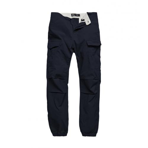 Nohavice Vintage Industries Conner Cargo Jogger - navy