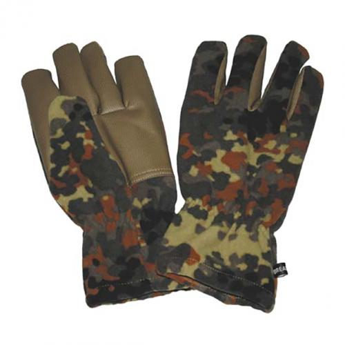 Rukavice fleesové Alpin - flecktarn