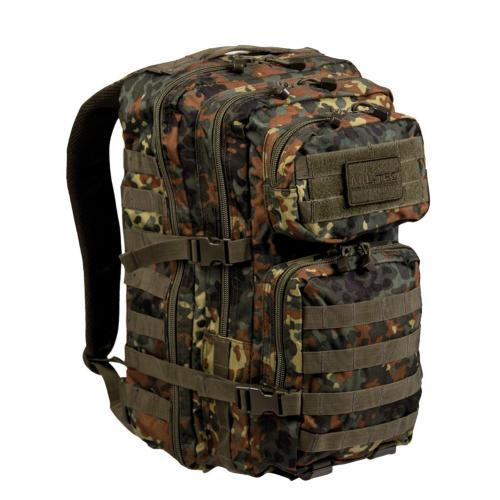 Batoh Mil-Tec US Assault L - flecktarn