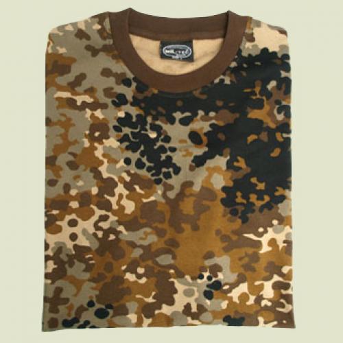 94db54fa4 Maskáčové tričko s krátkym rukávom - hnedé maskovanie - Army a ...