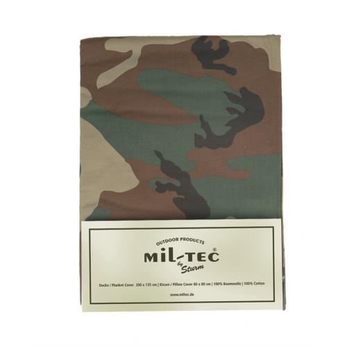 597bdf13c9e5 Posteľné obliečky maskáčové pre jedno lôžko - woodland - Army a ...
